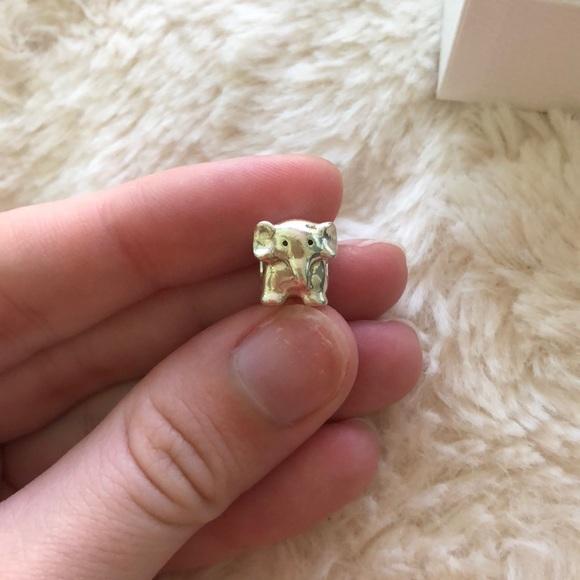 Retired Pandora elephant charm